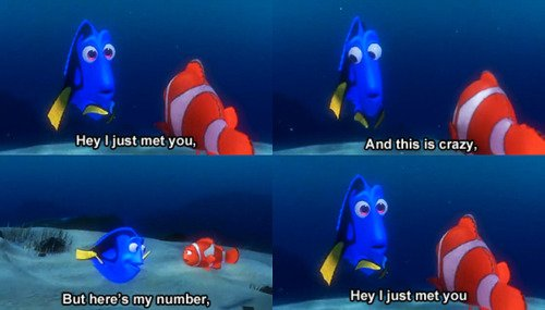 Dory Call Me Maybe