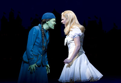 Wicked London Elphaba and Glinda