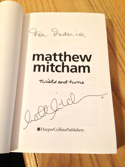 Twists and Turns Signed Copy