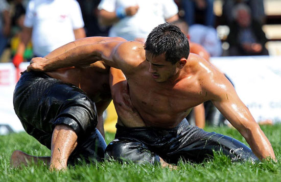 Turkish Oil Wrestling 02