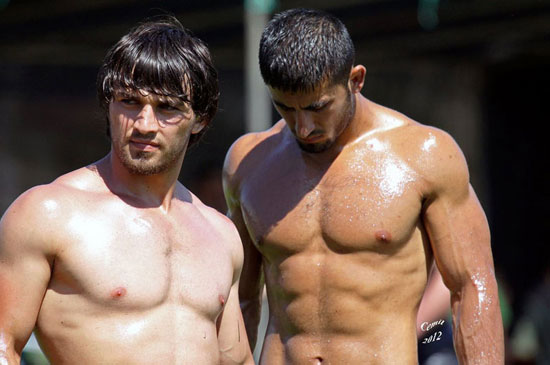 Turkish Oil Wrestling 04