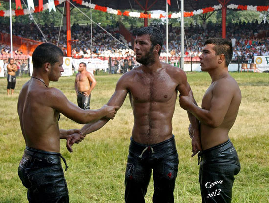 Turkish Oil Wrestling 06