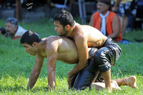 Turkish Oil Wrestling 08