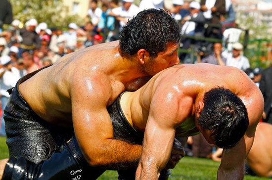 Turkish Oil Wrestling 11