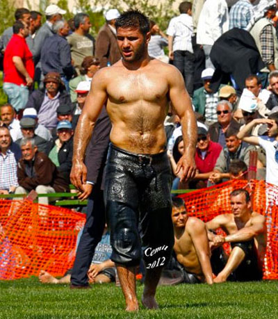 Turkish Oil Wrestling 12