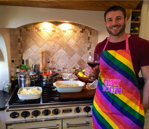 Ben Cohen Gay Icon