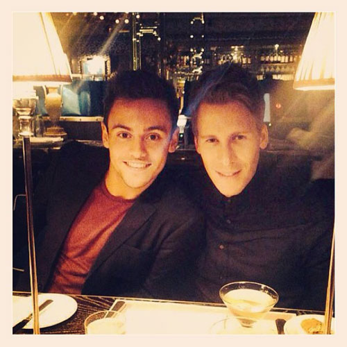Tom Daley Dustin Lance Black Official
