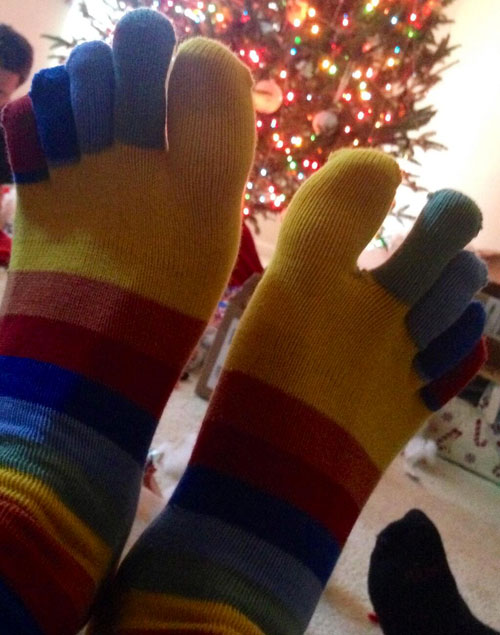 Dustin Lance Black Socks