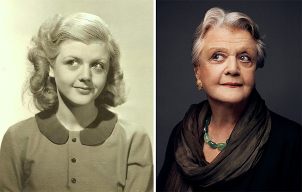 Angela Lansbury Young and Old
