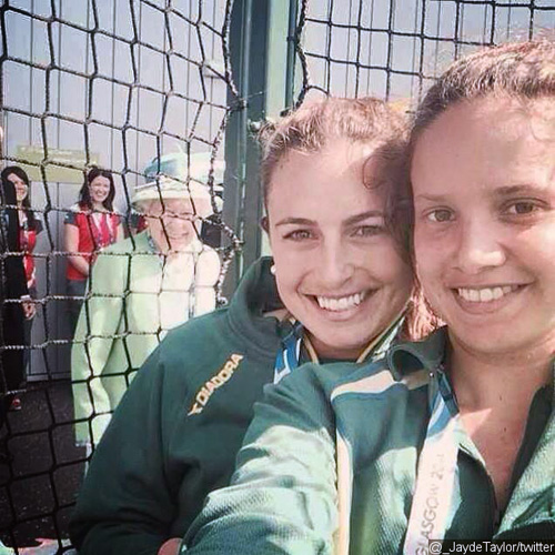 Queen Elizabeth II Photobomb