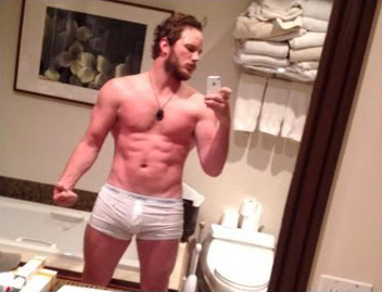 Chris Pratt Underwear