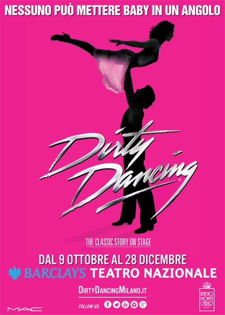 Dirty Dancing Teatro Nazionale Poster