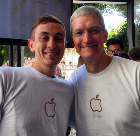 Tim Cook Pride T-Shirt